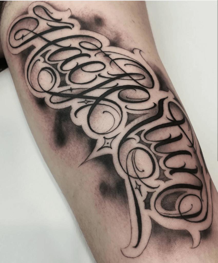 Lettering Tattoos Otautahi Tattoo Auckland Studio See more ideas about tattoo lettering, tattoo lettering styles, tattoo fonts. lettering tattoos otautahi tattoo